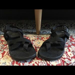 Chaco Z/2 black sandals, size 6.5, worn ONCE